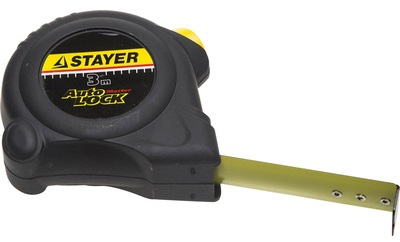 Рулетка STAYER MASTER AUTOLOCK 3м*16мм автостоп 2-34126-03-16_z01