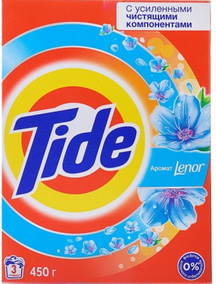 Порошок TIDE Color Lenor Scent автомат 450г